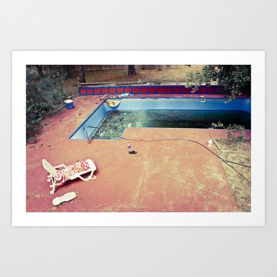 Suburban Decay, No. 2 Art Print