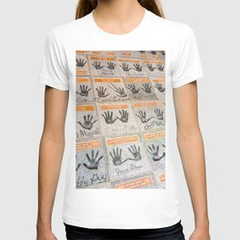 Hollywood hands T-shirt
