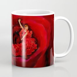 Dancing in the Red Rose Coffee Mug