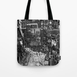 One Man's Possessions Tote Bag