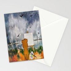 Inspiration in progress Stationery Cards