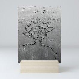 HE bw Mini Art Print