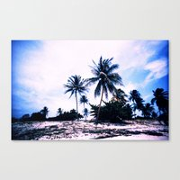 cuba Canvas Prints featuring Cuba by very giorgious
