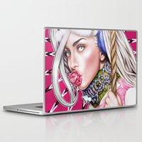 artrave Laptop & iPad Skins featuring artRAVE by Denda Reloaded