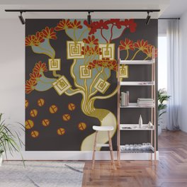 TREE OF PROSPERITY Wall Mural