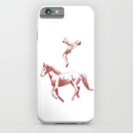 The Jumping Man iPhone Case