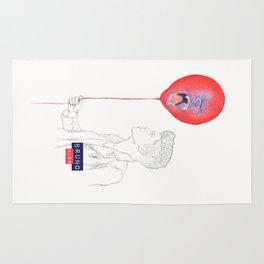 Bruno Mars (Gorilla Balloon) Rug