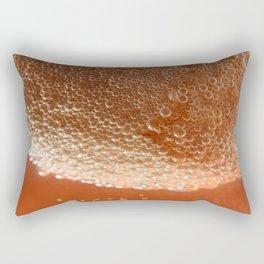 Boiling an egg Rectangular Pillow