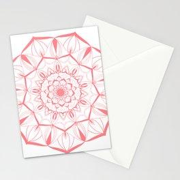 Living Coral Mandala no. 49 #society6 Stationery Cards
