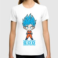 goku T-shirts featuring Goku SSGSS by LoonyLand