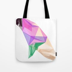 Abstract Pigeon Tote Bag