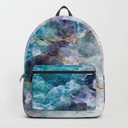 Quartz Stone - Blue and Purple Backpack