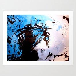 Steff Art Print