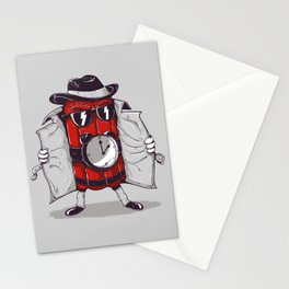 what time is it? it's time to explode Stationery Cards