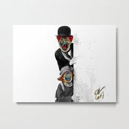 The Kid Street Art Graffiti Metal Print