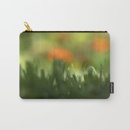 Fuzzy Landscape Carry-All Pouch