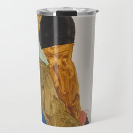 Egon Schiele - Moa (1911) Travel Mug