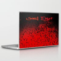 soul eater Laptop & iPad Skins featuring Soul Eater by Deb Adkins