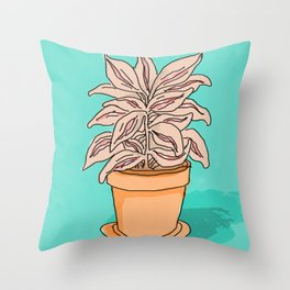 PUSSYWILLOW Throw Pillow