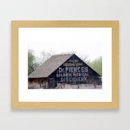 Advertising Framed Art Print