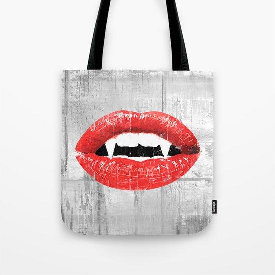 Vampire's Kiss Tote Bag
