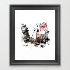 Poland - Krawkowskie Przedmiescie, Warsaw Framed Art Print
