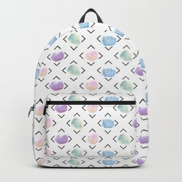 watercolor dots Backpack