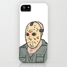 Jason Voorhees part 3 iPhone Case