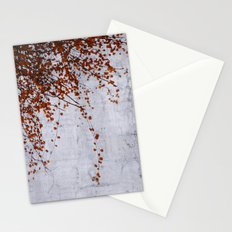 wall of tears Stationery Cards