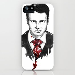 Hannibal Lecter - Hannibal Tryptch iPhone Case