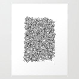 Rond Art Print