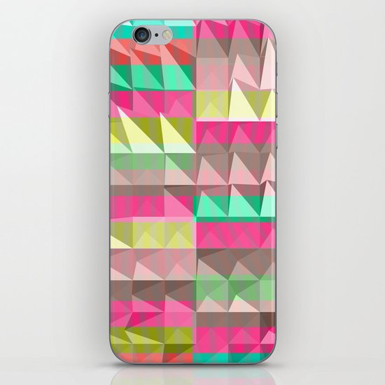 Pyramid Scheme iPhone & iPod Skin