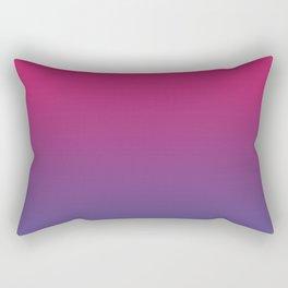 Pink Peacock Ultra Violet Gradient Pattern Rectangular Pillow
