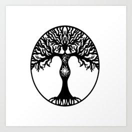 Goddess Tree Art Print