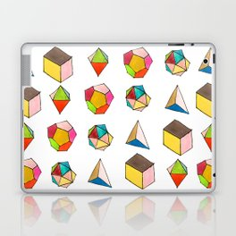 Platonic Solids Laptop & iPad Skin