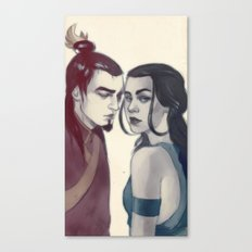 zukokatara Canvas Print