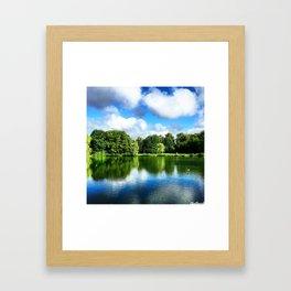Clear & Blurry  Framed Art Print