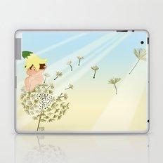 Resting on a dandelion Laptop & iPad Skin
