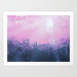 Overcast Glow Art Print