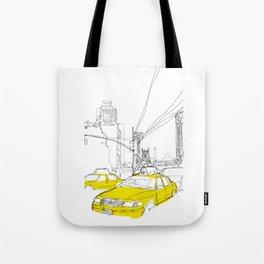 Cross Town Traffic Tote Bag