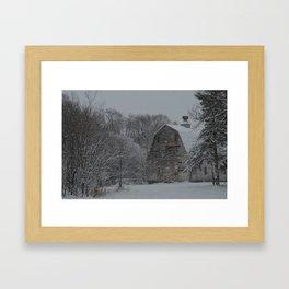 Zimmerman White Barn I Framed Art Print
