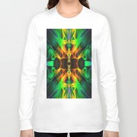 neon Long Sleeve T-shirts featuring Neon by Assiyam