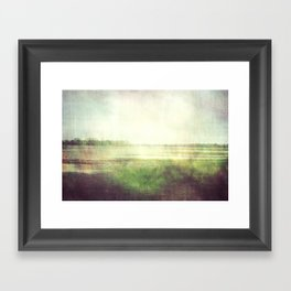 fishbourne marshes 02 Framed Art Print