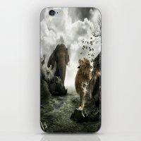 "beast iPhone & iPod Skins featuring ""Beast"" by CreativExposure"