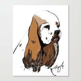 Cocker Spaniel Canvas Print