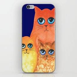 Annapolis Whimsical Cats iPhone Skin
