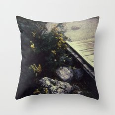 North Cascades National Park - Polaroid Throw Pillow
