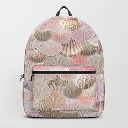 MERMAID SHELLS - CORAL ROSEGOLD Backpack