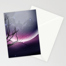 Face of the Moon Stationery Cards