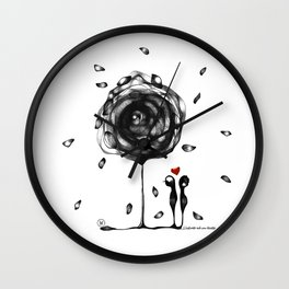 """""""L'amore accade"""" Wall Clock"""